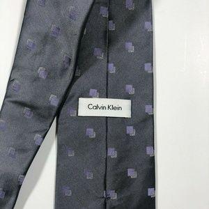 Calvin Klein Accessories - CALVIN KLEIN LIGHT GRAY TIE